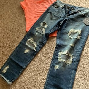 NWT articles Of society boyfriend jeans